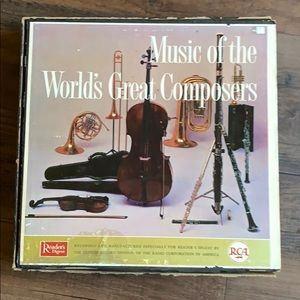 Music of the worlds greatest composers vinyls